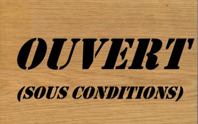 COVID – Ré-ouverture du Club sous conditions